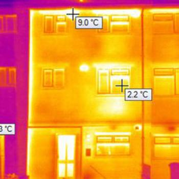 image of heat loss, .